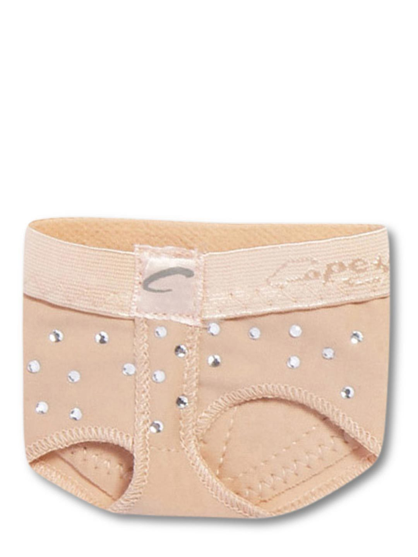 Capezio H07R Rhinestone FootUndeez - Dance Tampa