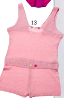 Girl's Knit Bottoms/Coveralls